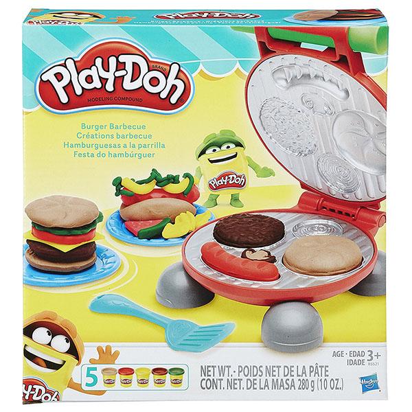 黏土 培乐多play-doh 创意diy 美味汉堡